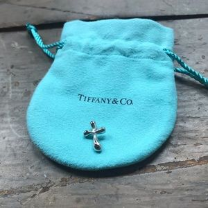Tiffany & Co. Jewelry - Tiffany Elsa Peretti Silver Cross Pendant Charm